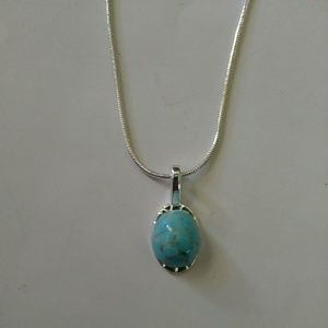 Jewelry - Cute Simple Turquoise Necklace